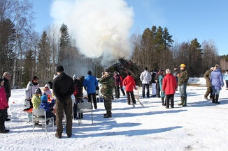 Pääsiäisen ulkoilutapahtuma 31.3.2013, kuva: Johanna Luotolinna