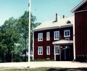 Röyhiön kylätalo.
