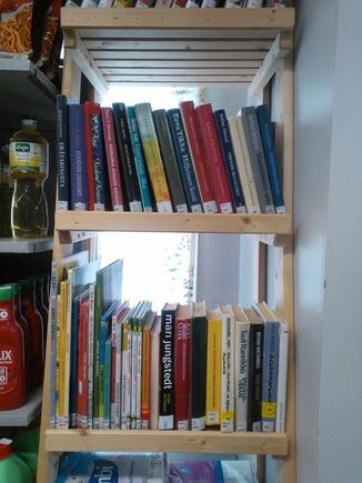 Kirjaston lainauspiste