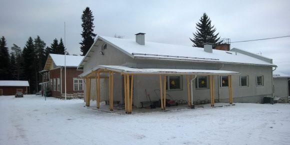 Uusi koulurakennus