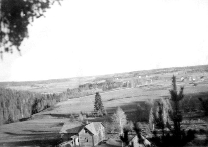 Maisema 50-Luvulta (kuva: Martti Ahola)