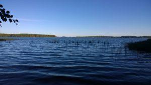Kuvassa Kyrösjärvi