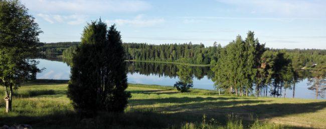 Sikuri-Kolkon kaunista kesämaisemaa.